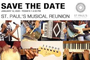 ST. PAUL'S MUSICAL REUNION