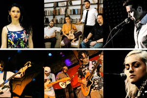 The Melissa June Band, Abbie Roper, Grander, Trevor Knight, Joan Mercury