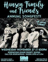 The Hansen Family Songfest!