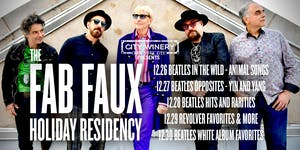 City Winery Presents: The Fab Faux: Revolver Favorites Plus More
