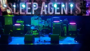 Floor Shirt  / Sleep Agents / Adam Evolving