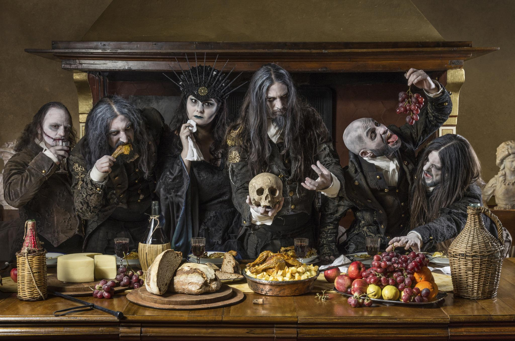 Fleshgod Apocalypse featuring the Veleno Quartet