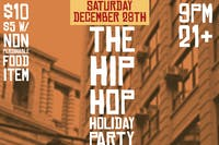 THE HIP HOP HOLIDAY PARTY feat. ARMSTRONG RANSOME