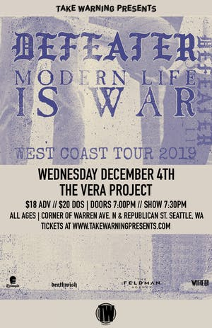 Defeater, Modern Life is War