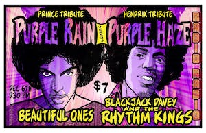 Prince vs Hendrix TIX AT DOOR