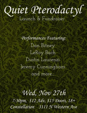 Jeremy Cunningham Trio // Bitney/Bach/303 with Dustin Laurenzi