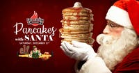 Pancakes with Santa