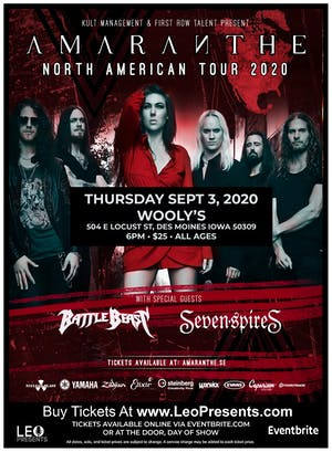 Amaranthe - North American Tour 2020