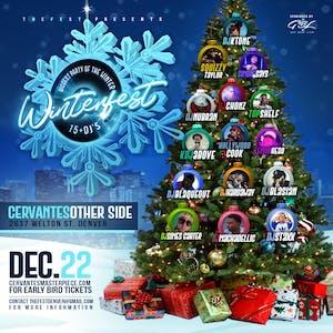 Winterfest ft. An All Star Lineup of 15+ DJs TBA