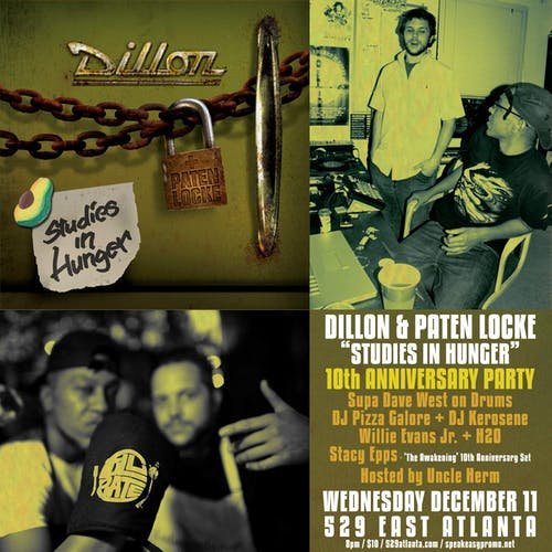 Dillon & Paten Locke: Studies in Hunger 10th Anniversary Show