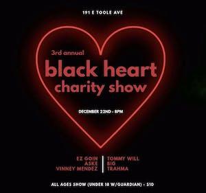 Black Heart Charity Show @ 191 Toole