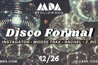 MDA 3rd Annual Disco Formal