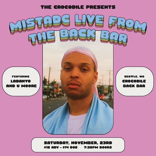 MistaDC EP Release @ The Back Bar