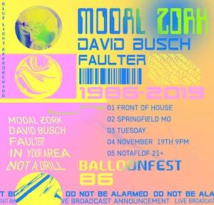 Modal Zork//David Busch//Faulter//Ballonfest'86