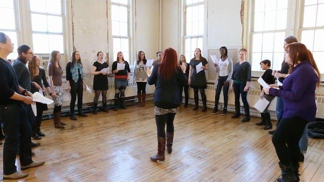 Urban Choir Project: B-Side Choir