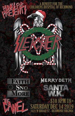 Punks For Presents Night 4 w/ Sleigher, Faith Sno More, MerryDeth, Santa WK