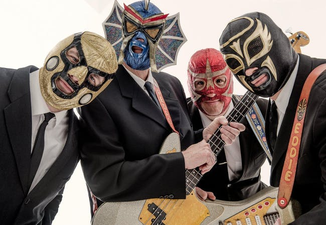 Los Straitjackets, The Chuckleberries
