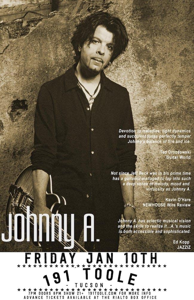 JOHNNY A. @ 191 Toole