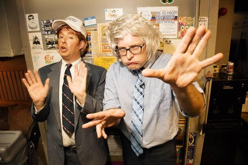 TRUMP VS BERNIE w/ Anthony Atamanuik & James Adomian @ Washington Hall