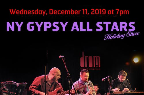 NY Gypsy All-Stars Holiday Show