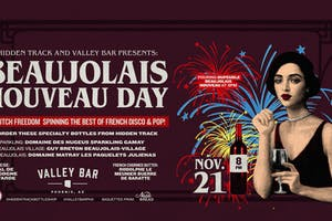 BEAUJOLAIS NOUVEAU DAY PARTY