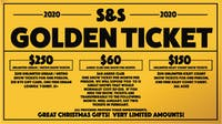 S&S Golden Ticket 2020