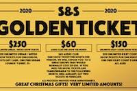 S&S Golden Ticket 2020