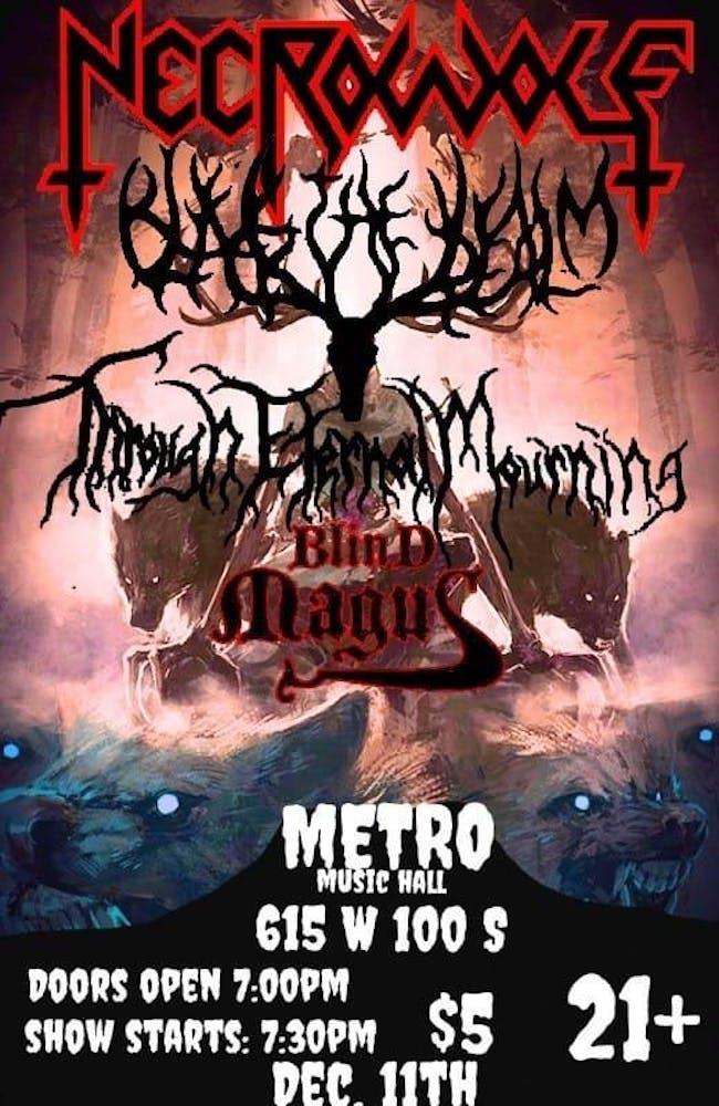 Necrowolf + The Black Realm