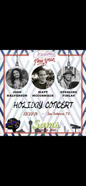 Josh Halverson, Matt McCormack, Sterling Finlay Holiday Concert