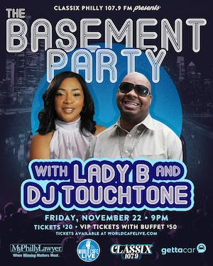The Basement Party with Lady B and DJ TouchTone