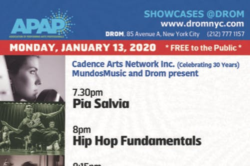 APAP: Cadence Arts Network