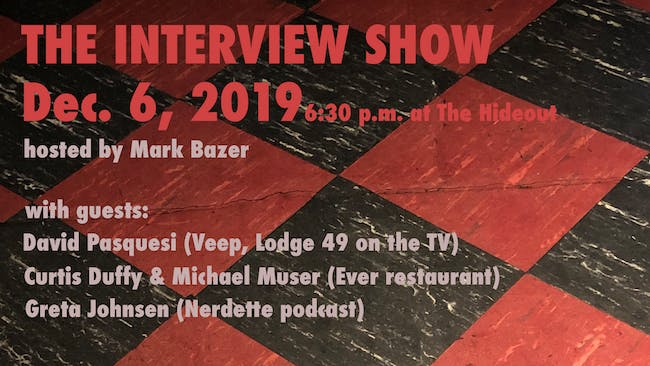 Interview Show with Mark Bazer