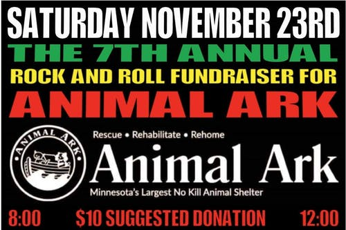 *Whiskey Junction* 7th Annual Animal Ark Fundraiser