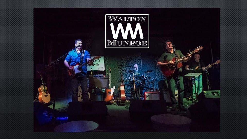 Walton Munroe with special guest Sterling Masters