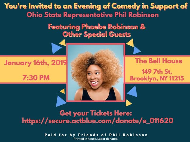 Phoebe Robinson and Special Guests