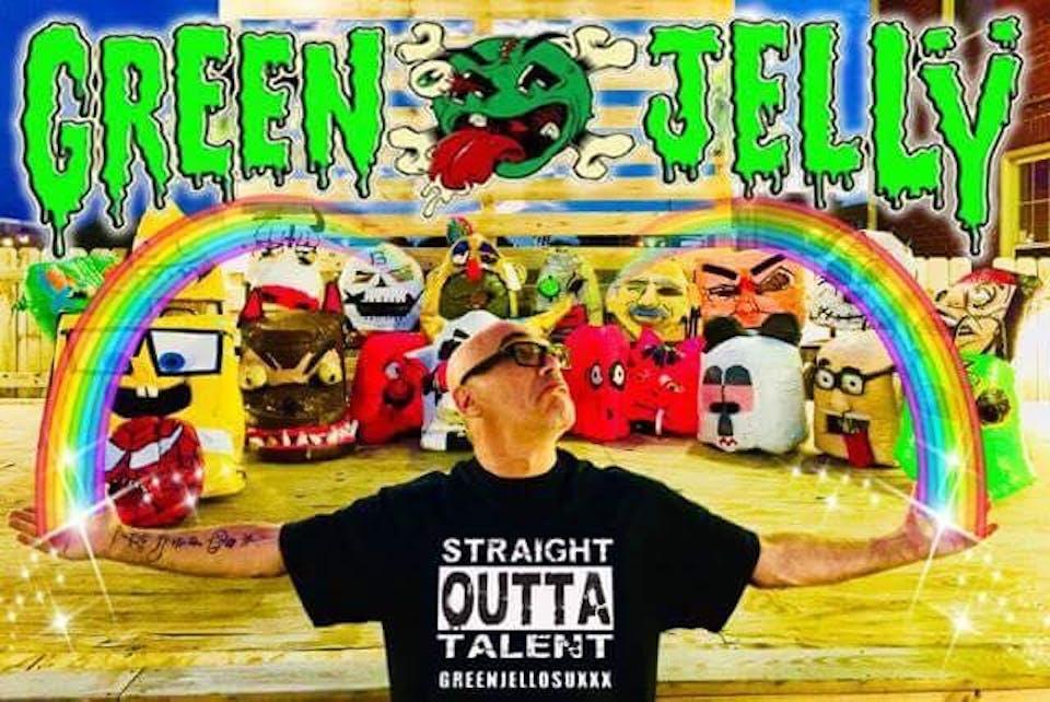 Green Jellÿ ~ SteveO & The Crippling Addictions ~The KMX Band ~ Effusion 35