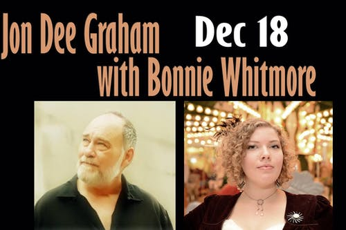Jon Dee Graham with Bonnie Whitmore