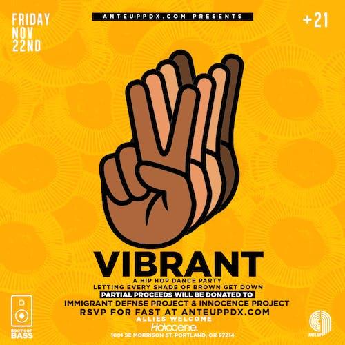 VIBRANT: POC & Allies Hip-Hop Dance Party