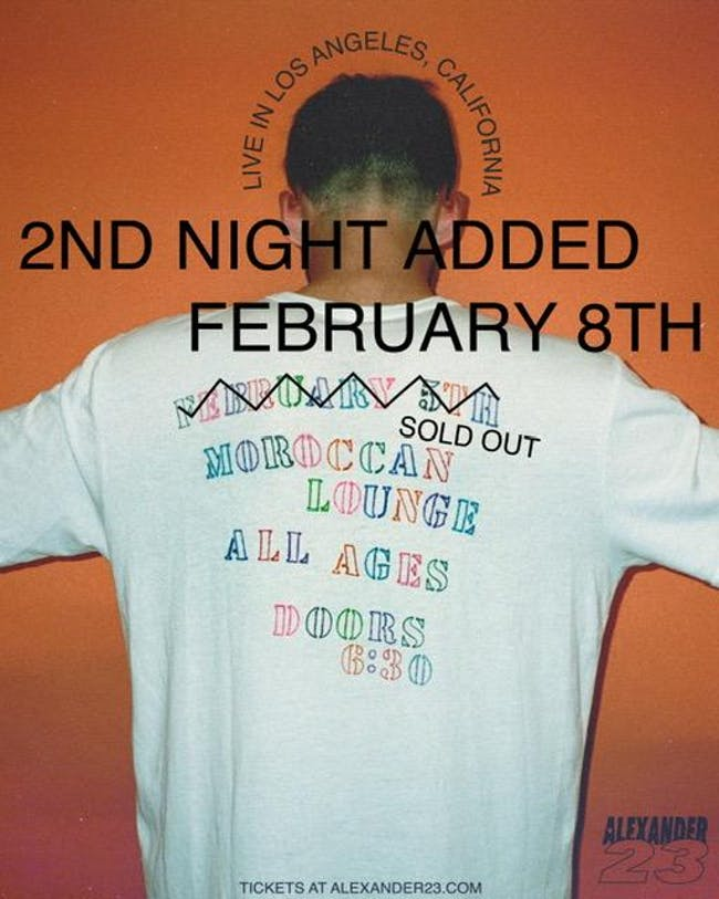 SOLD OUT!!! Alexander 23