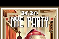 New Years Eve Party with The Dawn Drapes, party muscles and Kirby Sybert