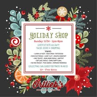 Holiday Shop and Can Food Drive
