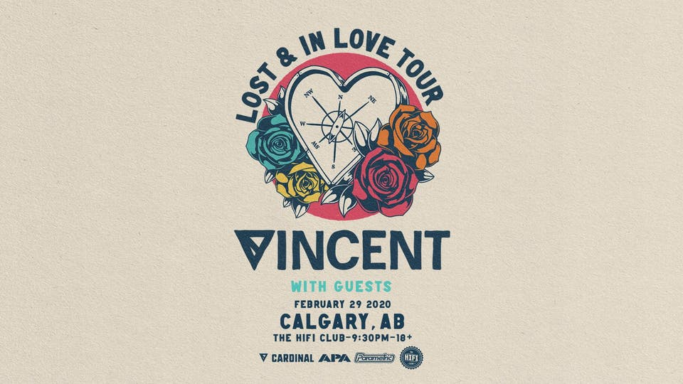 Vincent: Lost & In Love Tour