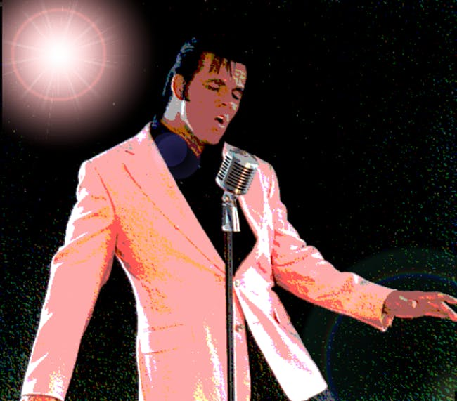 Jeff Bergen's Elvis Show in the Gospel Lounge