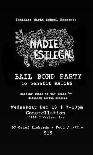 Bail Bond Party to Benefit RAICES