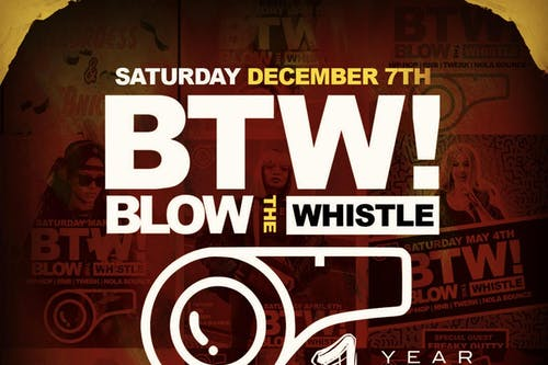 BLOW THE WHISTLE - 1 Year Anniversary!