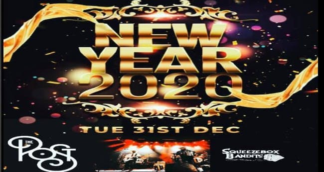 NYE with Squeezebox Bandits & Retrophonics at The Post