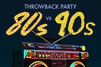 80's VS 90's Throwback Party// Dj Indica Jones