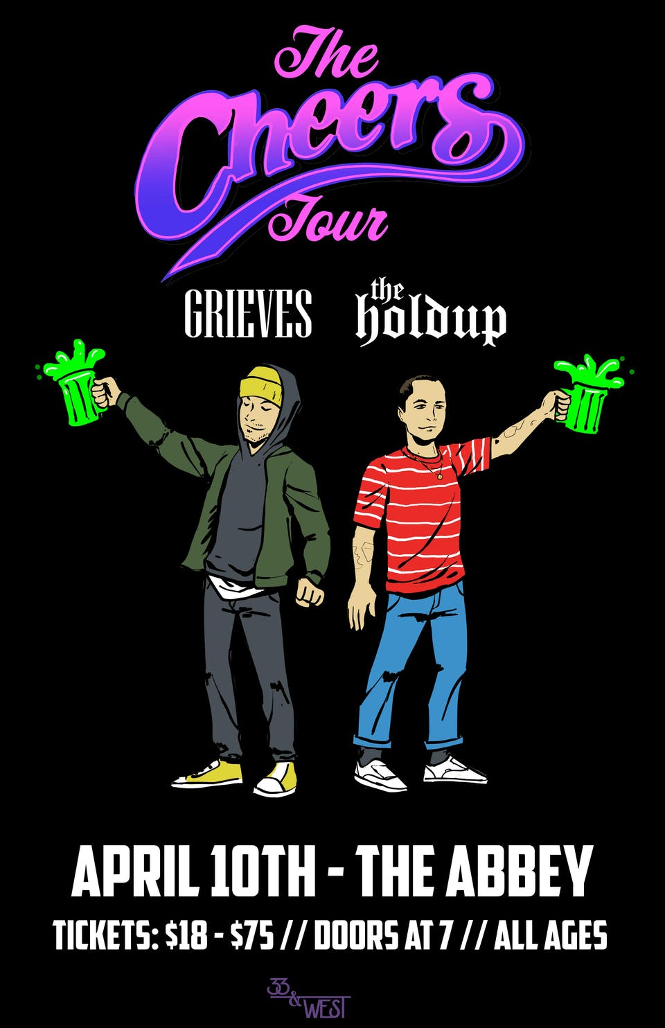 The Cheers Tour: Grieves + The Holdup