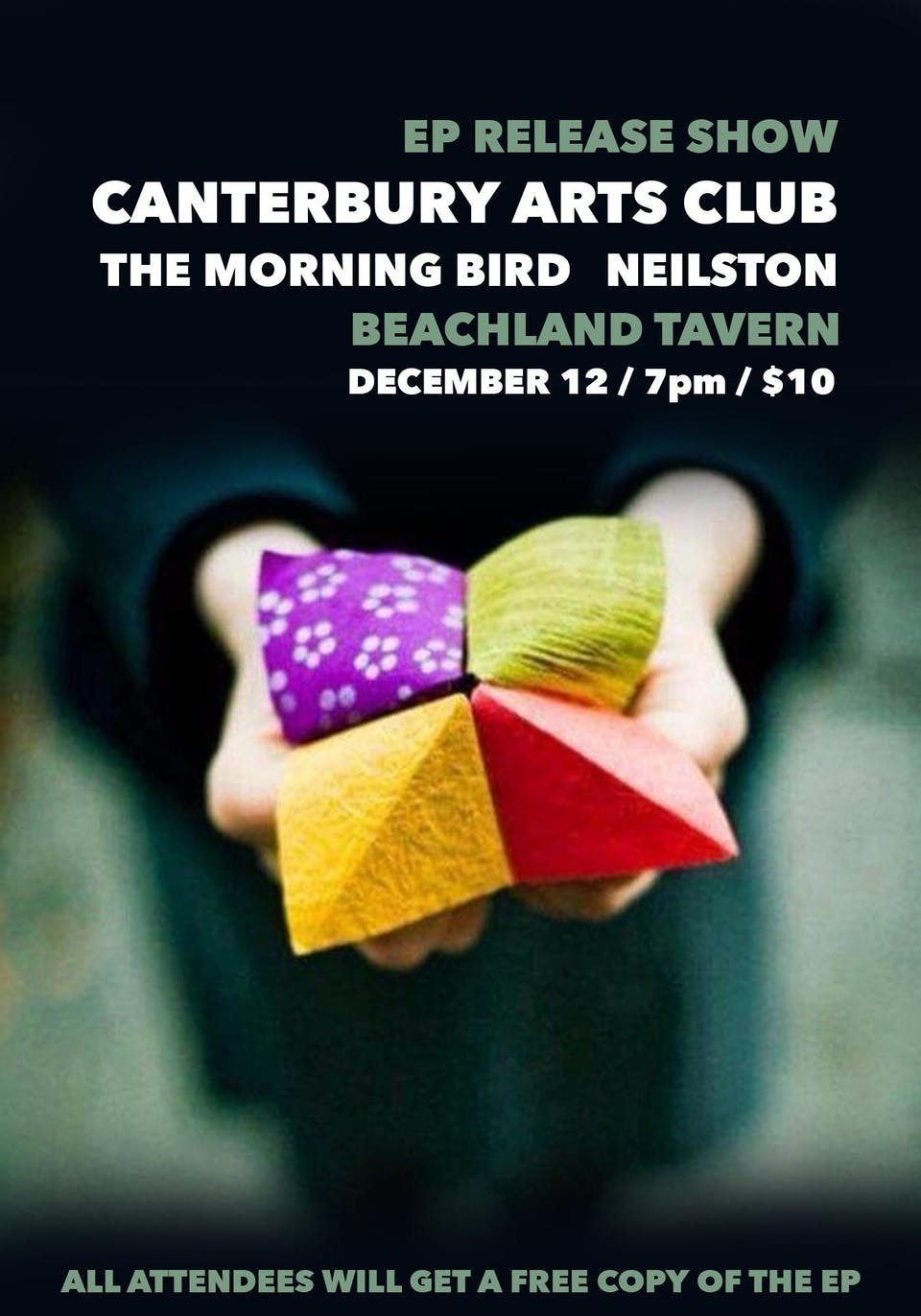 Canterbury Arts Club EP Release with The Morning Bird and Neilston