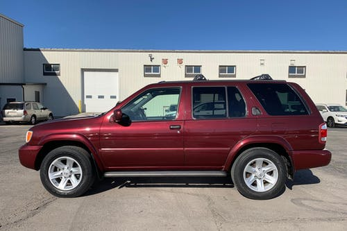 Raffle for 2003 Nissan Pathfinder  - All Proceeds go to Jan Faircloth